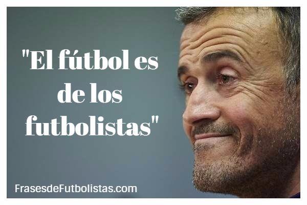 """""""El fútbol es de los futbolistas"""""""