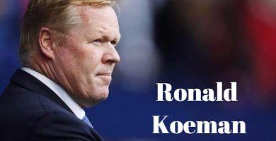 Frases de Ronald Koeman
