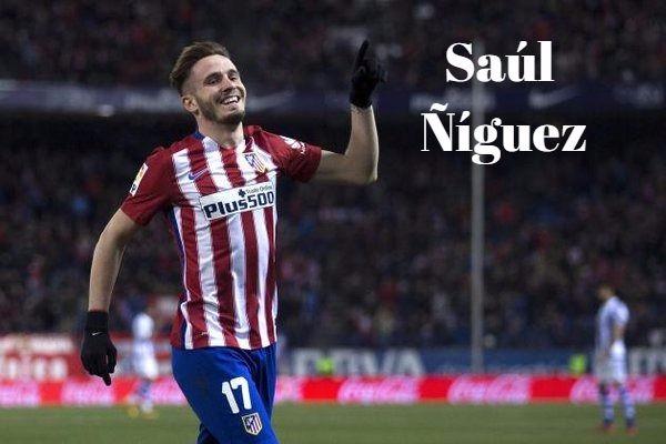 Frases de Saúl Ñíguez