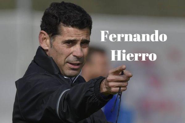 Frases de Fernando Hierro