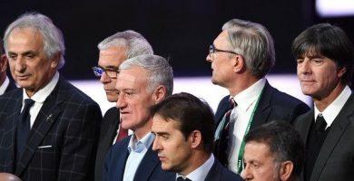 Entrenadores del Mundial de Rusia 2018