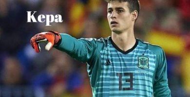 Frases de Kepa Arrizabalaga